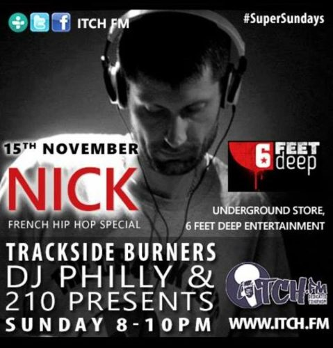 11-15-2015 in London ( Itch FM / Trackside Burners )