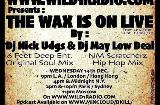 """ Wu-Tang Soul Sample Mix "" by Nick Udg$ Ft. Dj May Low Deal [ Live @ Le Clapier ( 25.11.2016 ) ]"