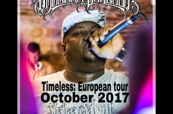 Shabaam Sahdeeq ( Timeless European Tour 2017 )