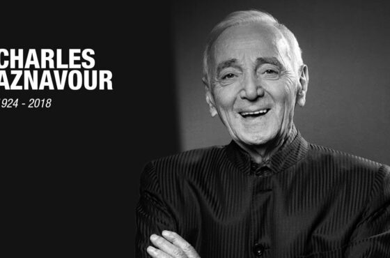 Hommage du disquaire à Aznavour sur 100.9FM