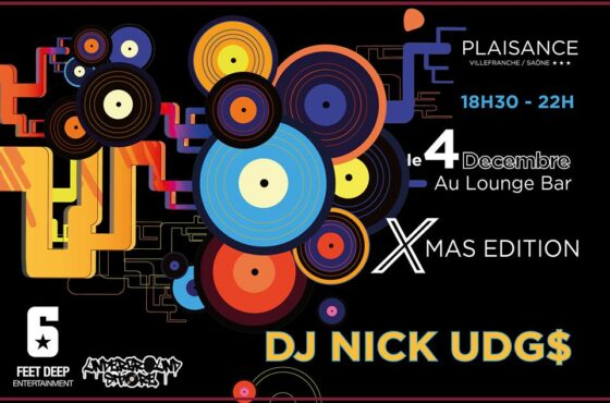 Dj Nick Udg$ au Plaisance ( Xmas 2018 edition )