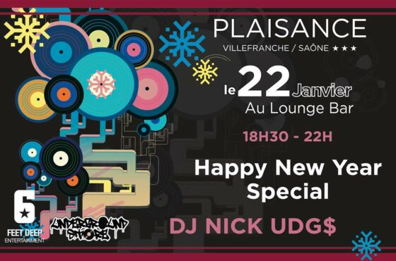Dj Nick Udg$ au Plaisance (Happy New Yeah Special!)