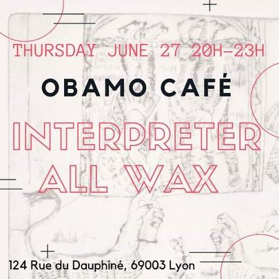 Interpreter à l'Obamo Café
