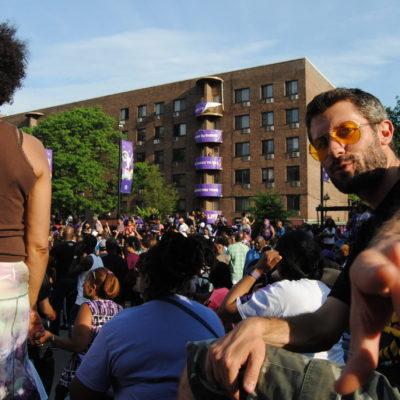 Spike Lee Prince crowd