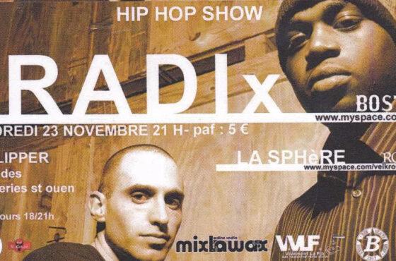 Waximum Nov. 2007 – RADIO HDR w/ RADIx (Intw & Freestyle)
